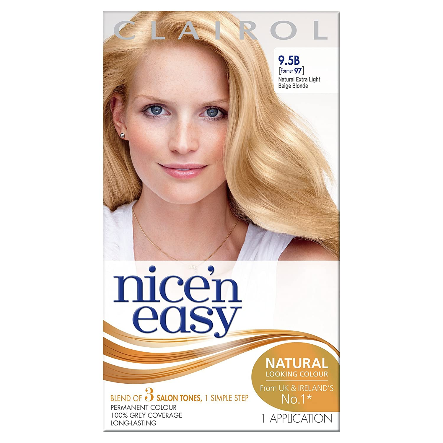 Clairol Nice'n Easy Permanent Hair Dye 108/8WR Natural Golden Auburn Coty 100676180