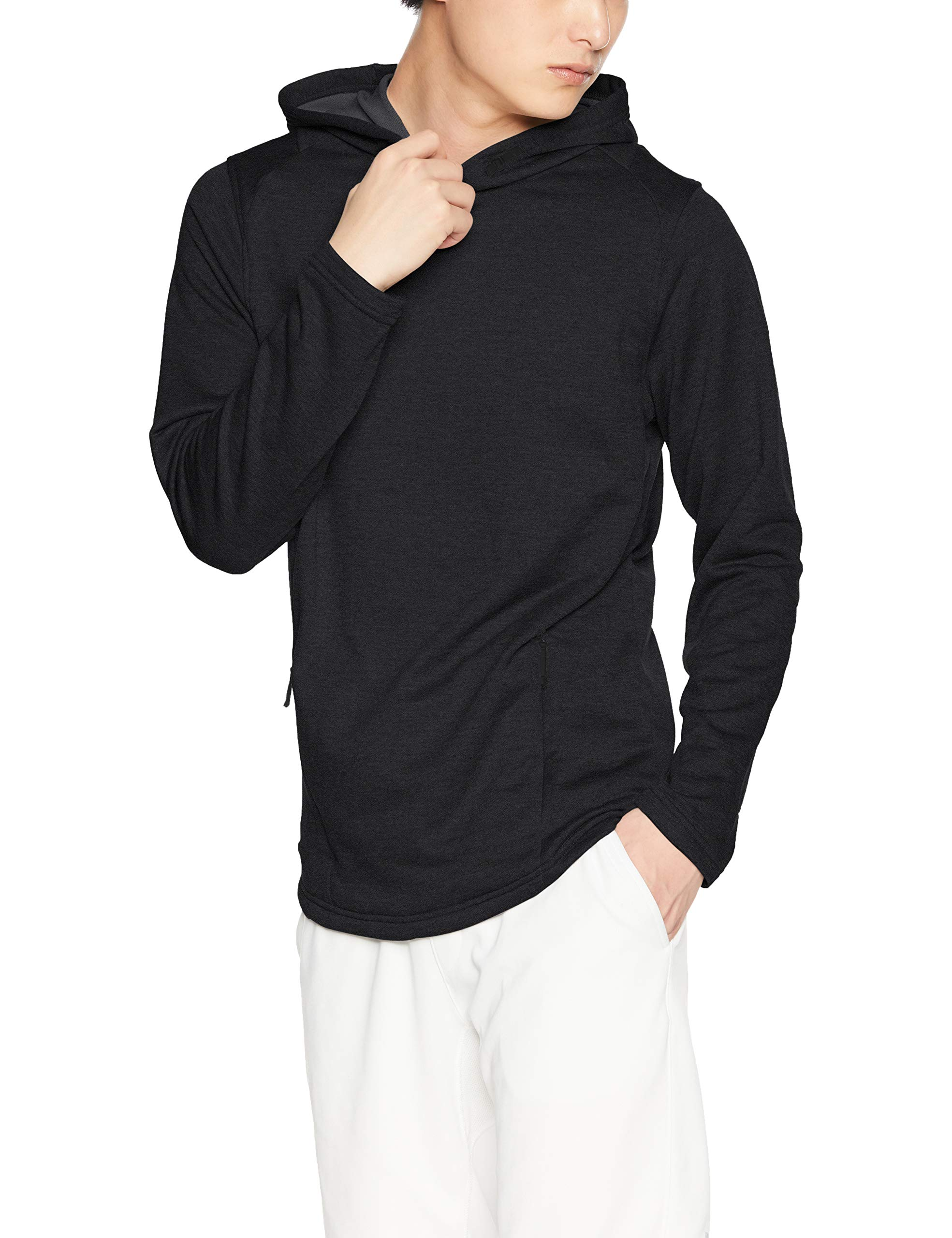 Under Armour Men's MK-1 Terry Hoodie, Black (001)/Black, X-Large by Under Armour