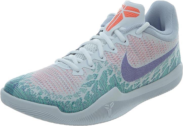 Nike Men's Kobe Mamba Rage Basketball Shoes (White/Purple ...
