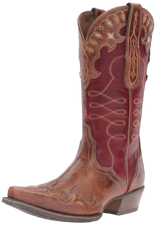 Ariat Women's Zealous Western Cowboy Boot B01L853ET4 6 B(M) US|Gingersnap