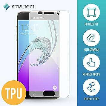[3X TPU] Samsung Galaxy A3 2016 Lámina TPU de protección para Pantalla (El Protector TPU se Adapta Perfectamente al Display con Esquinas Redondeadas): ...