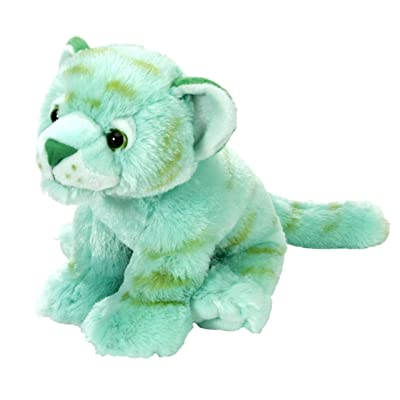 Wild Republic Tiger Plush, Stuffed Animal, Plush Toy, Gifts For Kids, Mint Green, Cuddlekins 12 Inches: Toys & Games