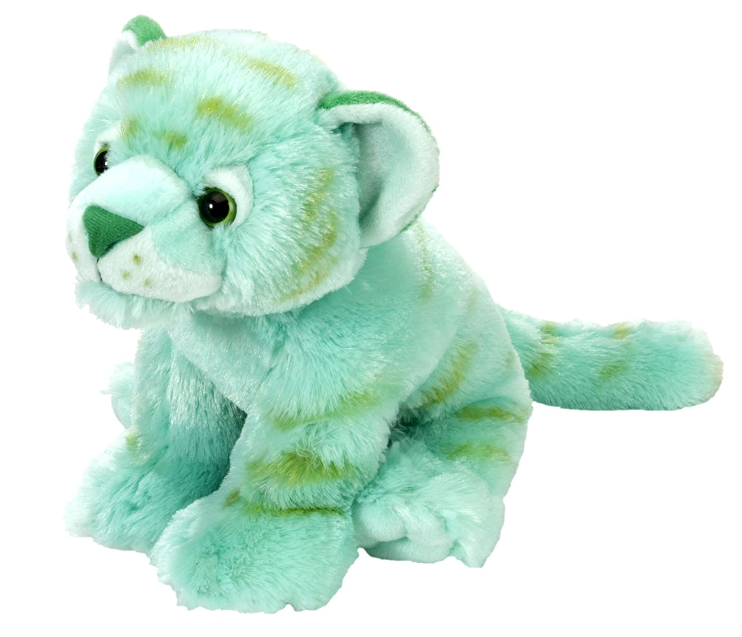 Wild Republic Tiger Plush, Stuffed Animal, Plush Toy, Gifts For Kids, Mint Green, Cuddlekins 12 Inches