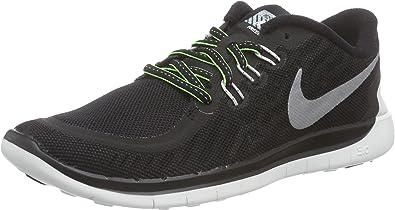 Nike Free 5.0 Flash (GS) Zapatillas de running, Niños, Black ...