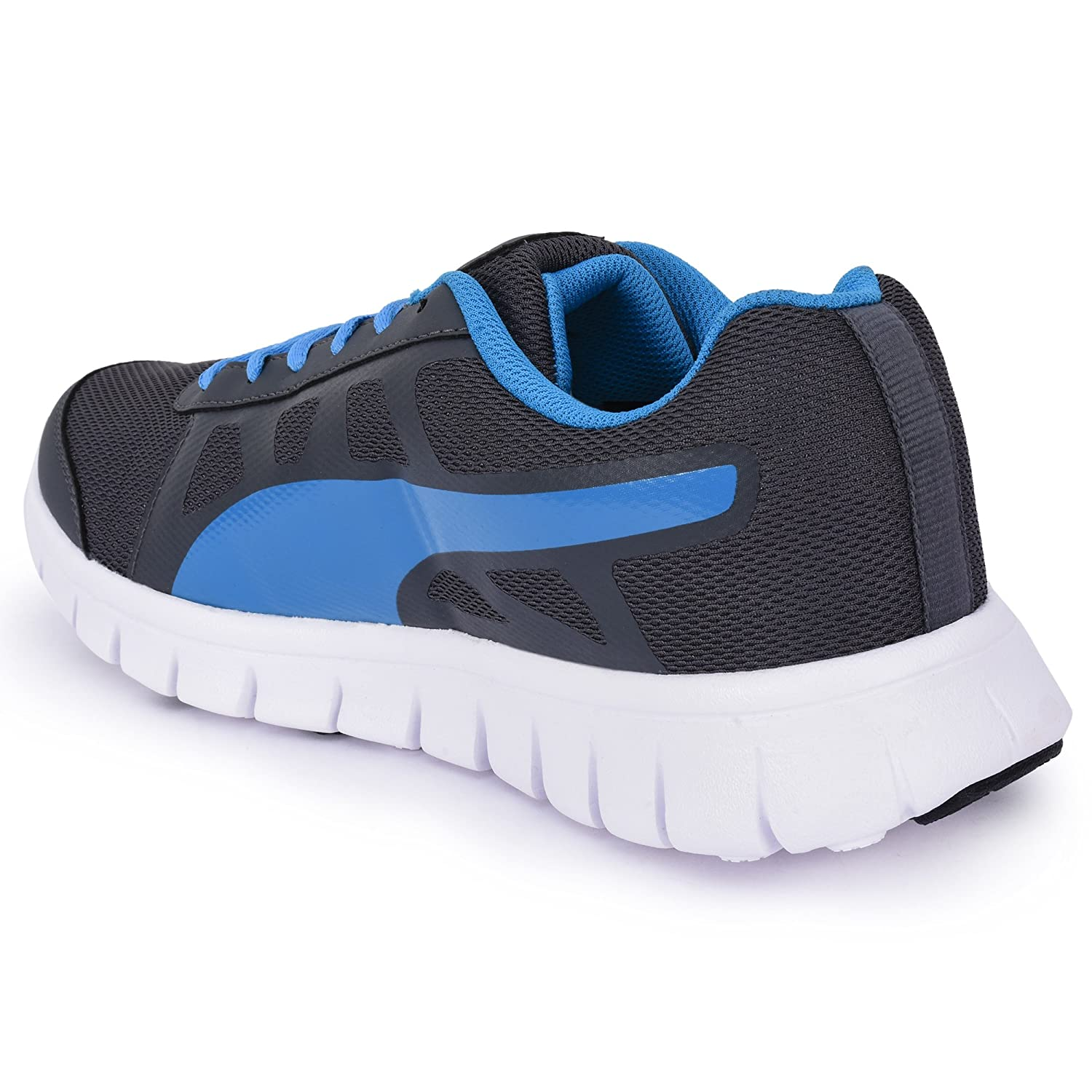 a1ee7a7a228a PUMA Men s Blue Running Sports Shoes 702 COMBO OFFER-3 Pairs of PUMA Socks  FREE-UK-9  Buy Online at Low Prices in India - Amazon.in