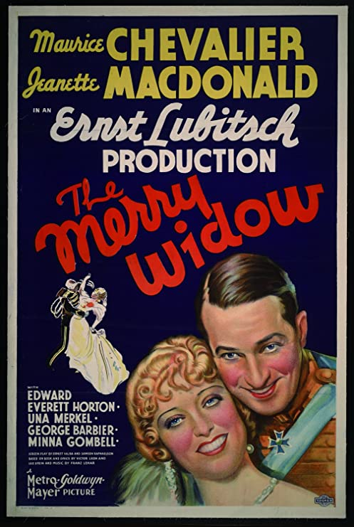 """The Merry Widow, Maurice Chevalier & Jeanette Macdonald, 1934 - Premium Movie  Poster Reprint 20"""" by 30"""" Unframed: Amazon.ca: Home & Kitchen"""