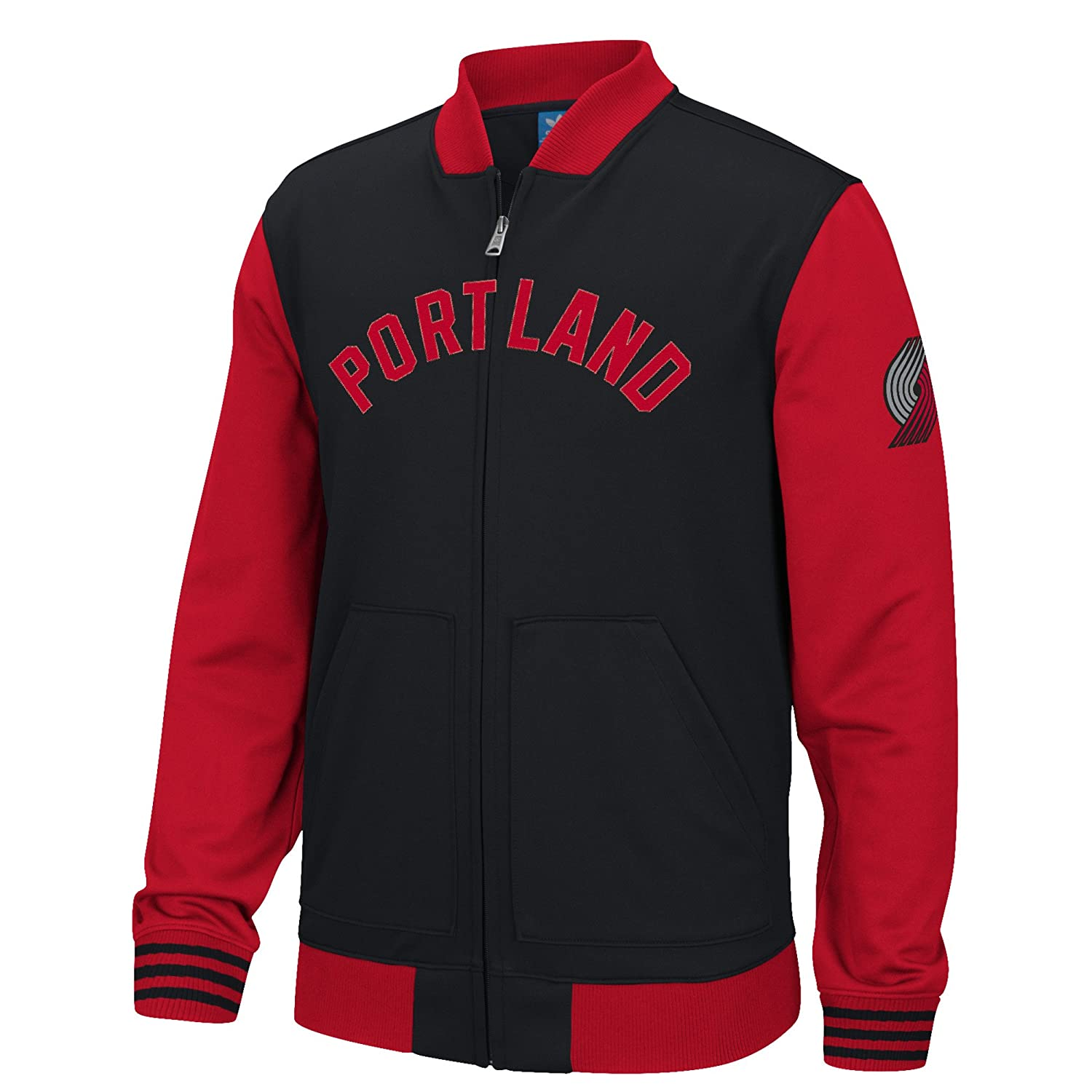 adidas Portland Trail Blazers NBA Originals Performance Full Zip Track Jacket