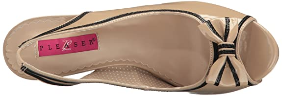 De Pat 7 Sandalias Uk Pinup Cream 40 Vestir 10 Label Blk Pleaser Pink Eu w0knOP