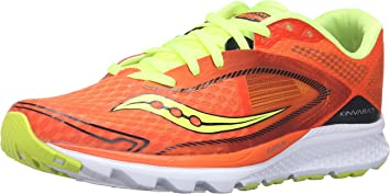 Saucony Running Shoes Kinvara 7, ORANGE / CITRON / BLACK, 40 ...
