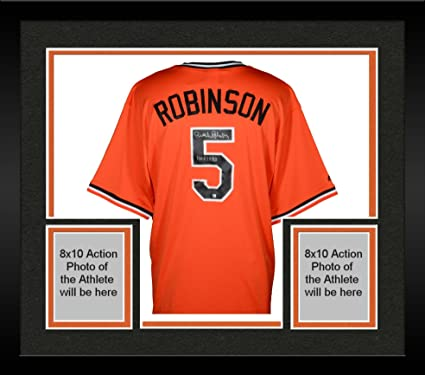 d276dcc58ce ... usa framed brooks robinson baltimore orioles autographed orange throwback  jersey with hof 1983 inscription fanatics authentic