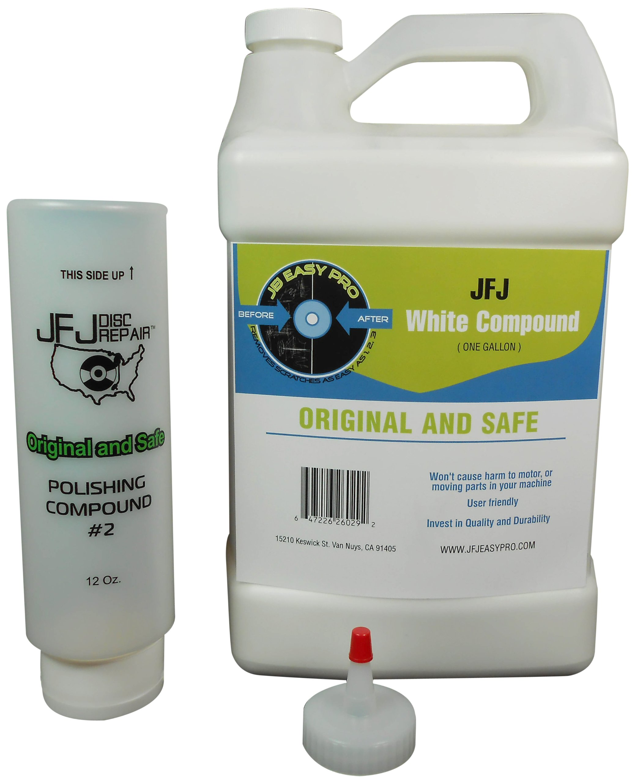 JFJ Disc Repair JFJPOL2G Polish Compound #2