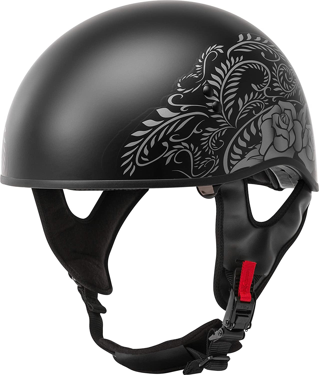 Gmax GM45 Naked Half Motorcycle Helmet Adult All Sizes All Colors