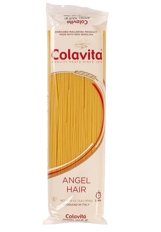 Amazon Com Colavita Angel Hair Capellini Pasta 1 Lb Pack Of 2