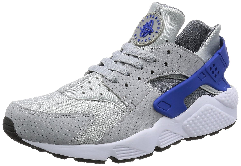 Nike Air Huarache Herren Laufschuhe  44 EU|Grigio blu elettrico