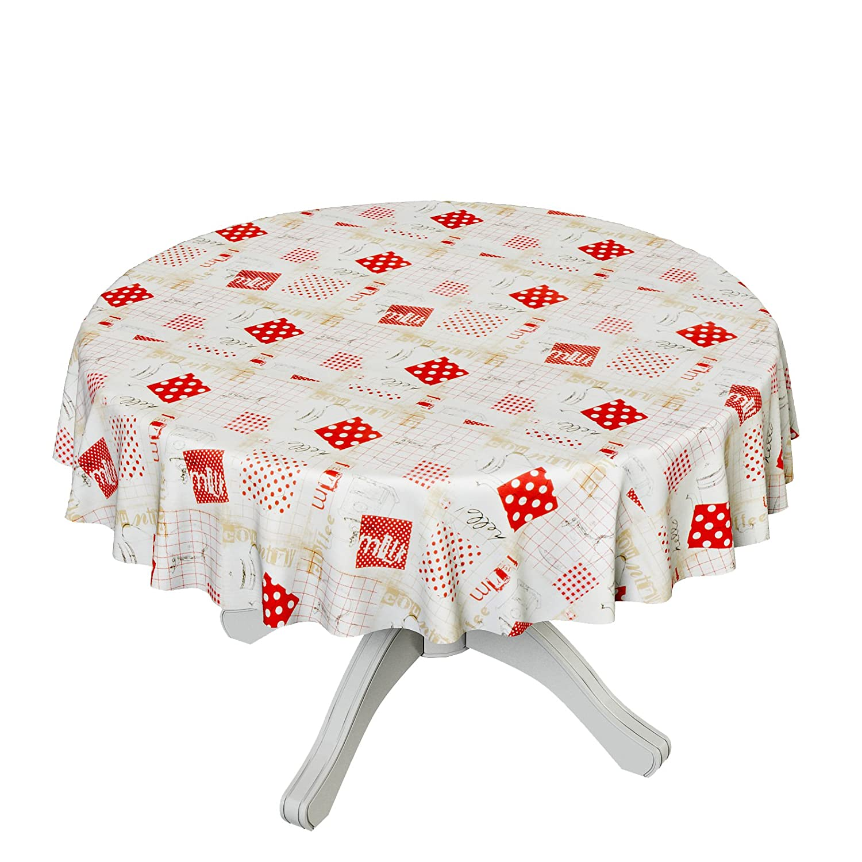 ANRO Hule mesa mantel de hule lavable Cocina jarras tamaño a ...