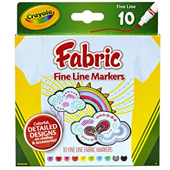 Crayola Fabric Line Markers
