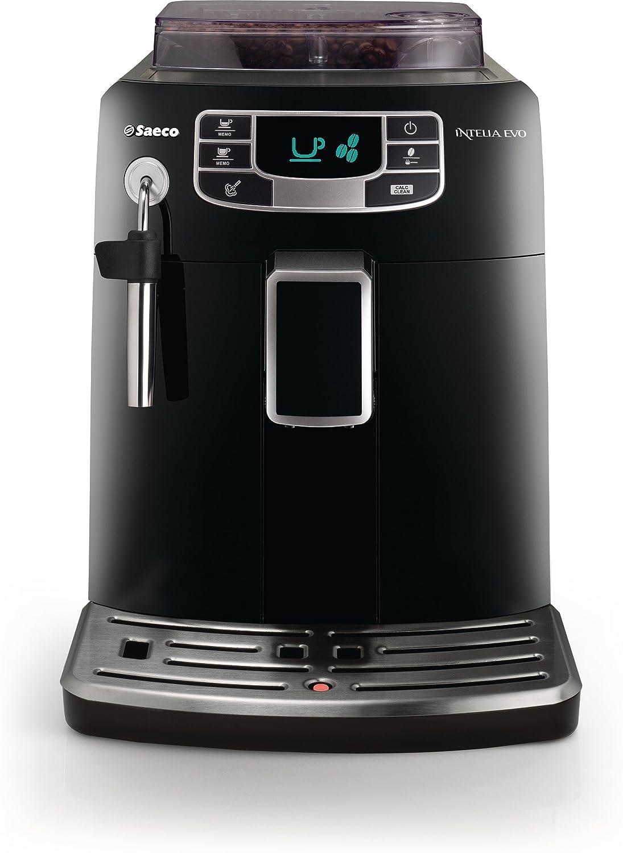 Saeco HD8751/95 - Cafetera (Independiente, Negro, LED, 230 V, 50 ...