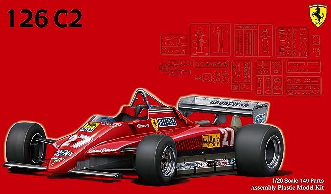 1 / 20 GP series No.2 Ferrari 126 c 2 1982