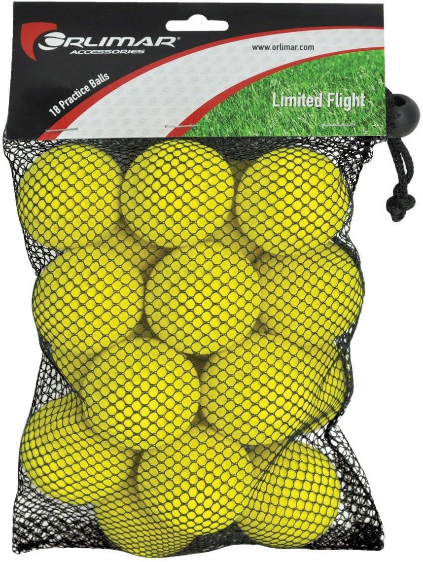 Orlimar Golf Practice Foam Balls 18-Pack