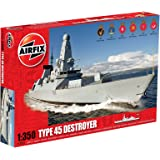 Airfix A12203 HMS Daring Type 45 Destroyer 1:350 Scale Series 12 Plastic Model Kit