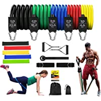 17 pcs 100% original Latex Quality Resistance Band Set the best home exercise for Men and Women with Resistance Loop…