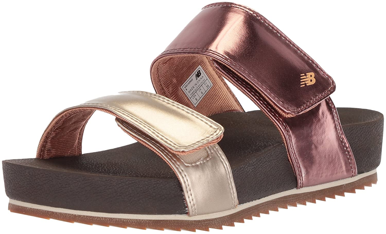 New Balance Women's City Slide Sandal B074JQ26CK 11 B(M) US|Rose Gold