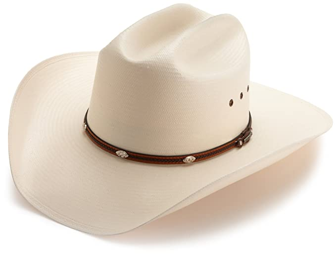 e0ed98d1e93 Stetson Men s Alamo Hat at Amazon Men s Clothing store  Cowboy Hats