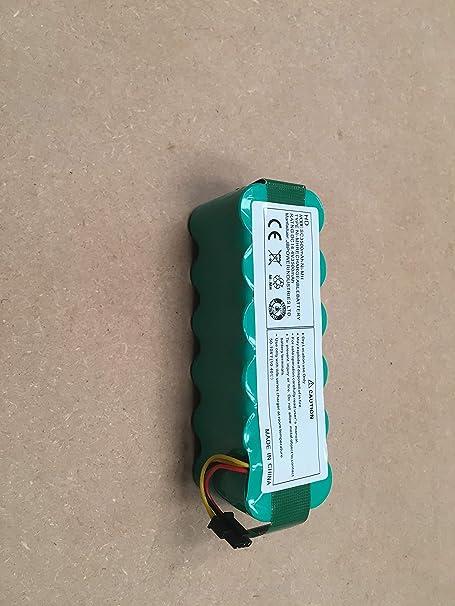 Ailill Supplies Ni-mh - Batería de Repuesto para Panda X500 X600 Ecovacs CR120 Dibea X500 X580 Haier T320 T321 T322 T325 Cleanmate S80/900 Liectroux B2000 B3000 (14,4 V, 3500 mAh): Amazon.es: Hogar