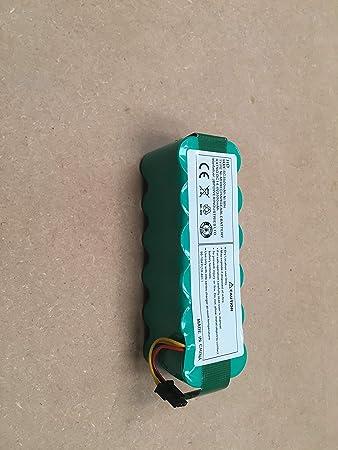 Ailill Supplies Ni-mh - Batería de Repuesto para Panda X500 X600 Ecovacs CR120 Dibea X500 X580 Haier T320 T321 T322 T325 Cleanmate S80/900 Liectroux B2000 ...
