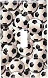 Art Plates - Soccer Balls Switch Plate - Single Toggle