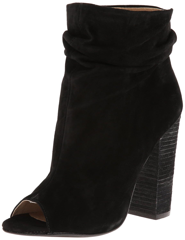 Chinese Laundry Kristin Cavallari Women's Laurel Peep Toe Bootie B00JSUH1Q4 6.5 B(M) US|Black Suede
