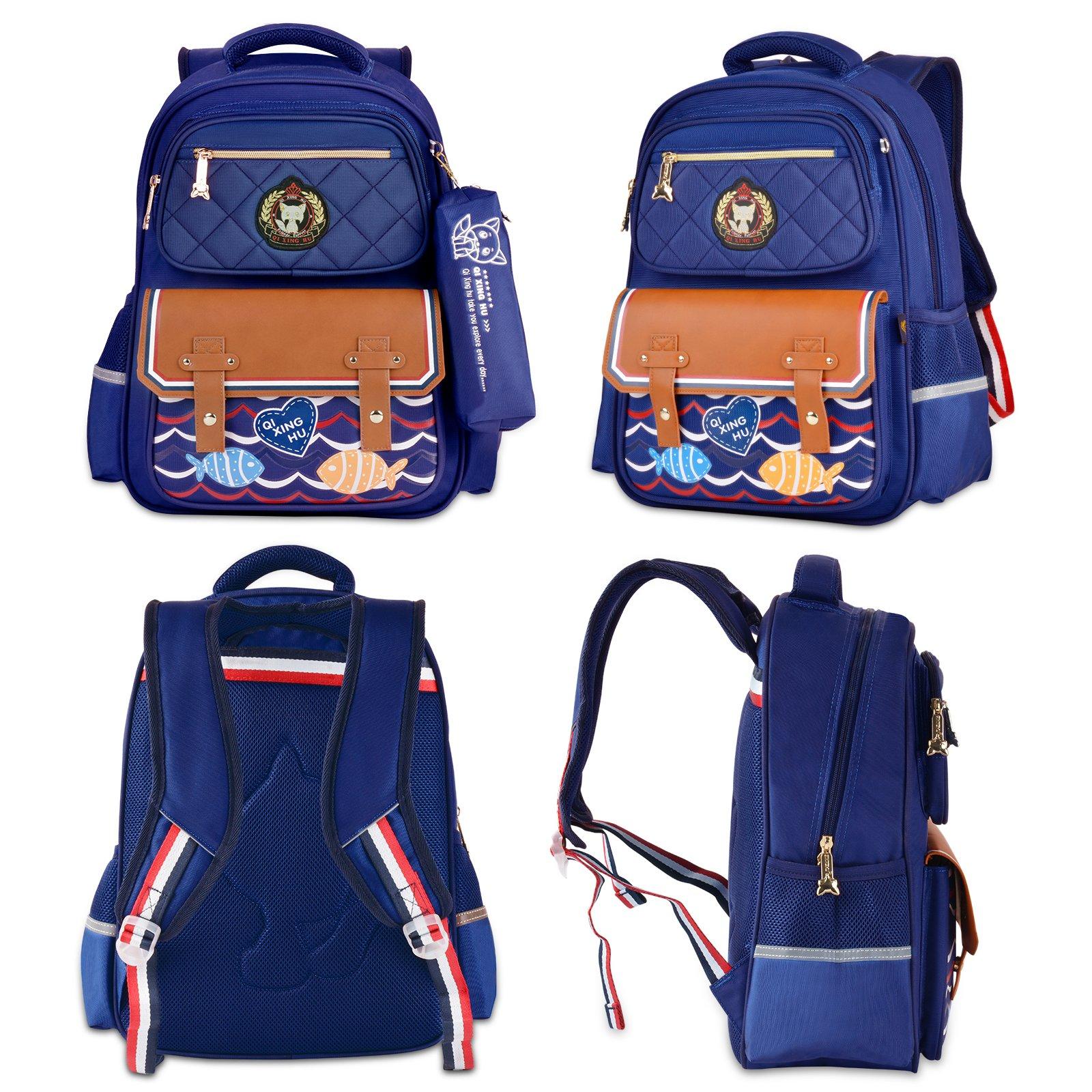 Boys Backpacks, Bageek Backpacks for School Backpack Kid School Bags for Boys Childrens Backpack by Bageek (Image #3)