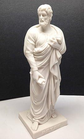 Divinity THORVALDSEN Apostle Peter The Rock Statue Jesus Christ Disciples 8 Collection