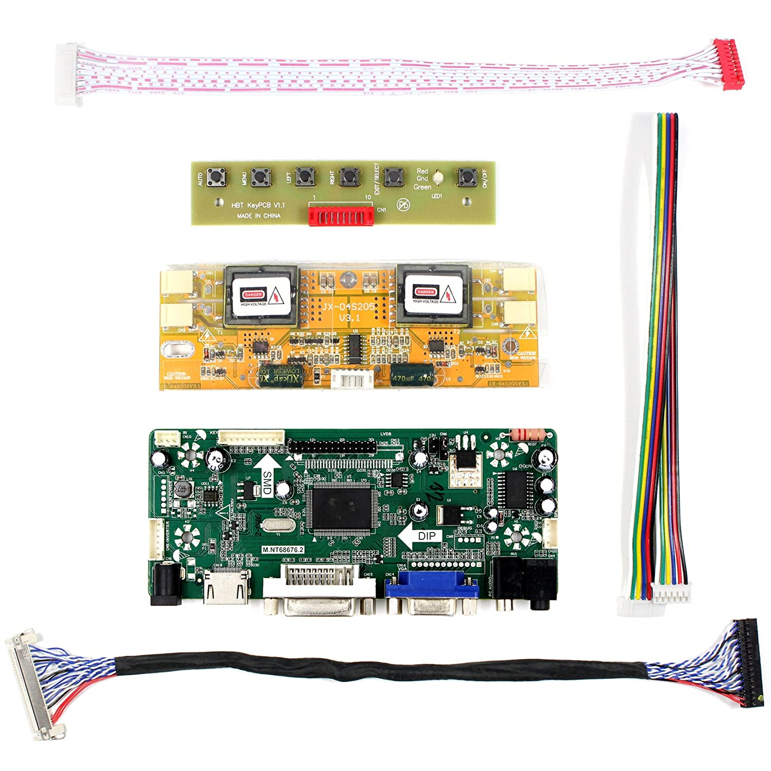Vsdisplay Hdmi Vga Dvi Audio Lcd Driver Board For 17 19 Promotional Led Circuit Buy M170eg01 Lm190e02 1280x1024 4ccfl 30pin Panel Computers Accessories