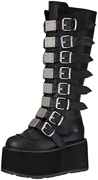 Women's Damned-318 Knee High Boot