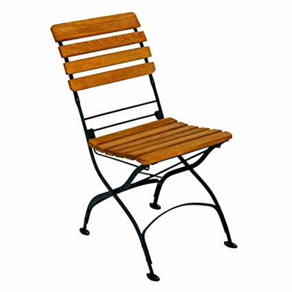 Amazon.com: Prisa Jardín Rebecca – Silla plegable, Negro ...