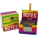 Rainbow Scratch Off Mini Notes + 2 Stylus Pens...