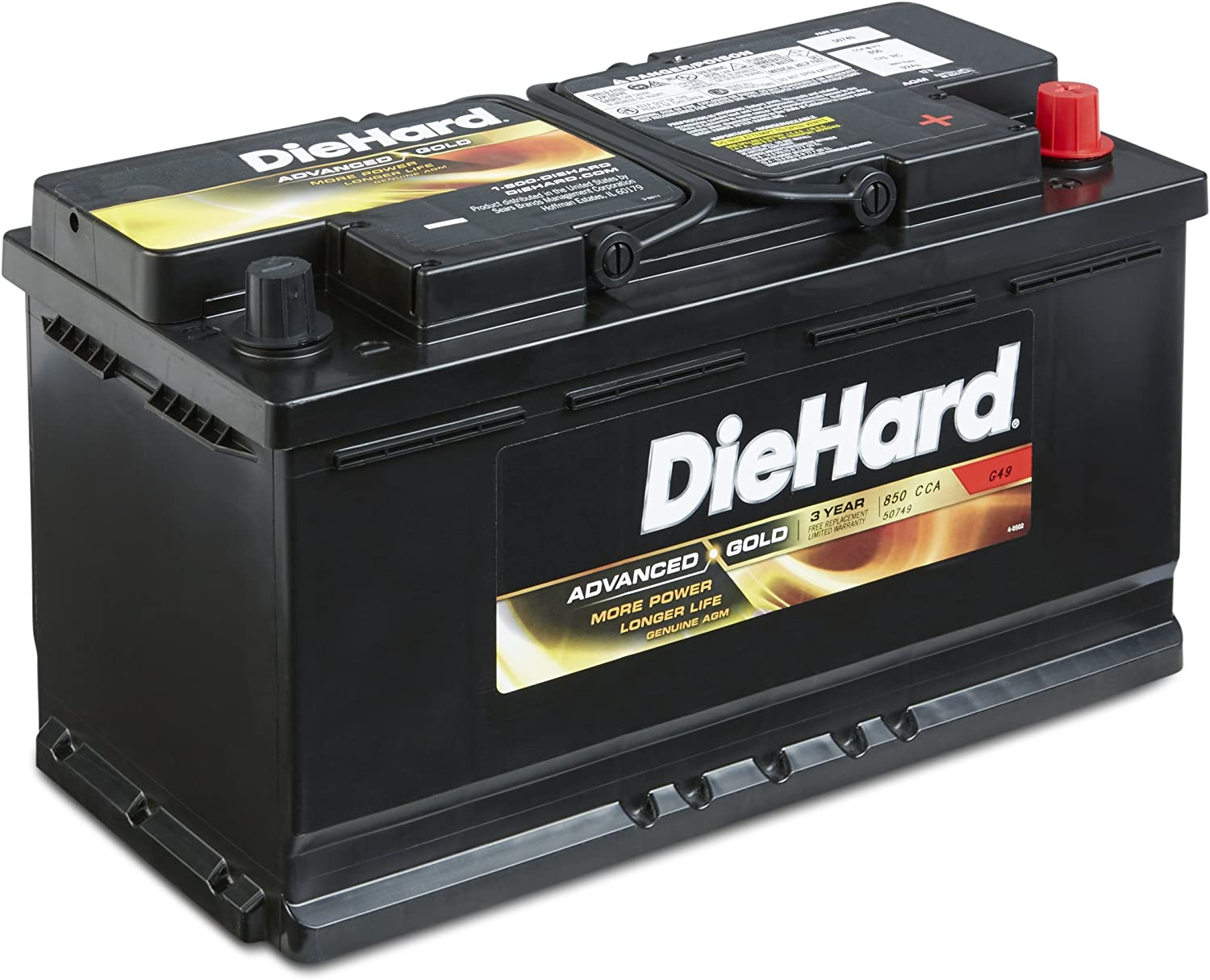 DieHard Advanced Gold AGM Battery}