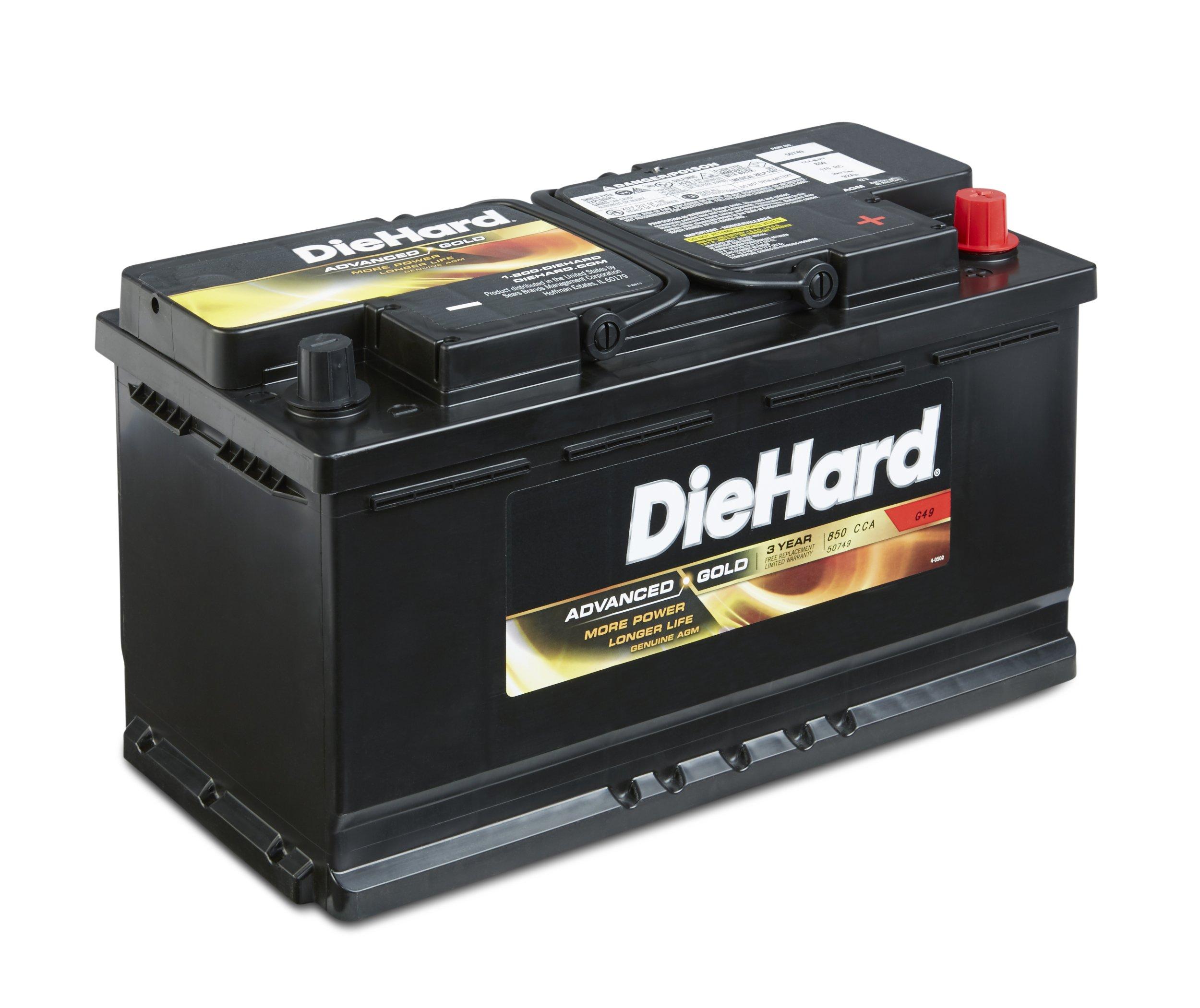 DieHard 38217 Advanced Gold AGM Battery (GP 49)