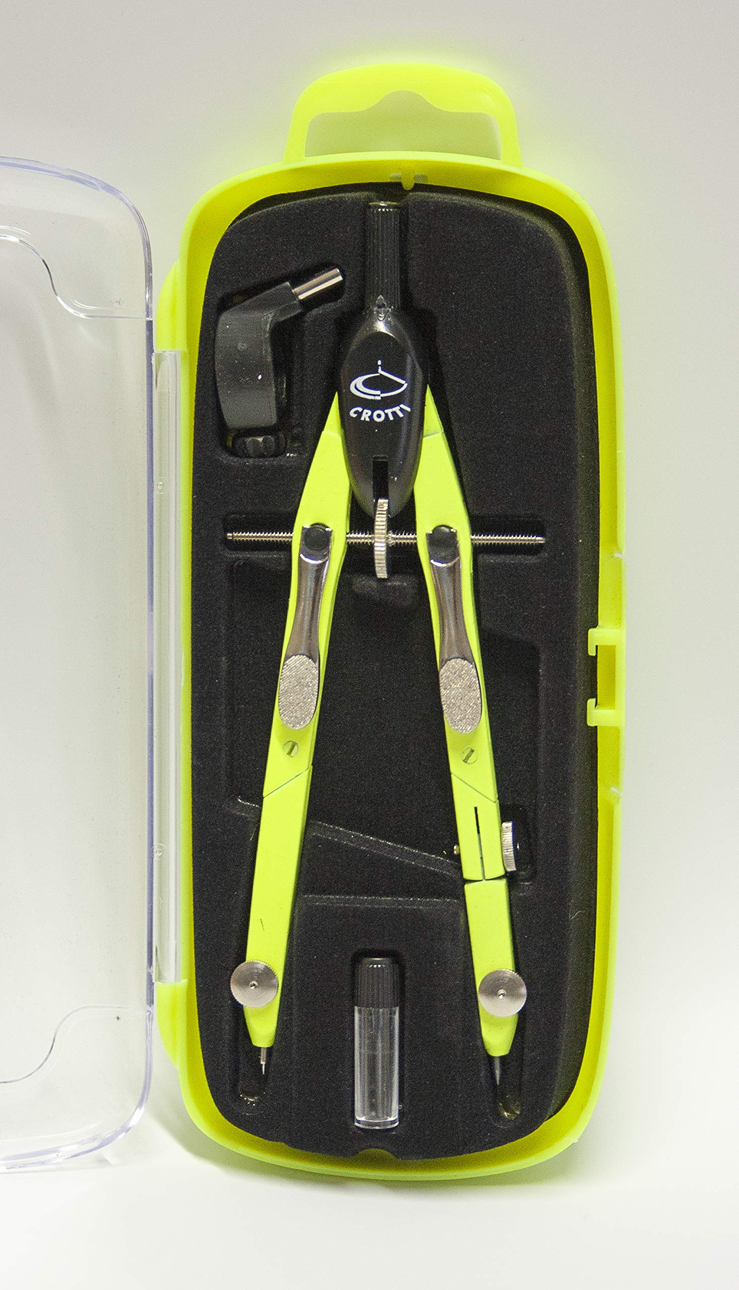 Metal balaustrone Double Joint with Quick Adjustment by Means of Metal levers - Neon Yellow.