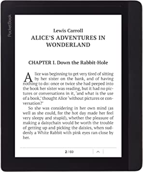 PocketBook InkPad Pantalla táctil 4GB WiFi Marrón lectore de e ...