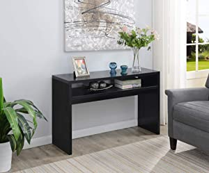 Convenience Concepts Northfield Deluxe Console Table, Black