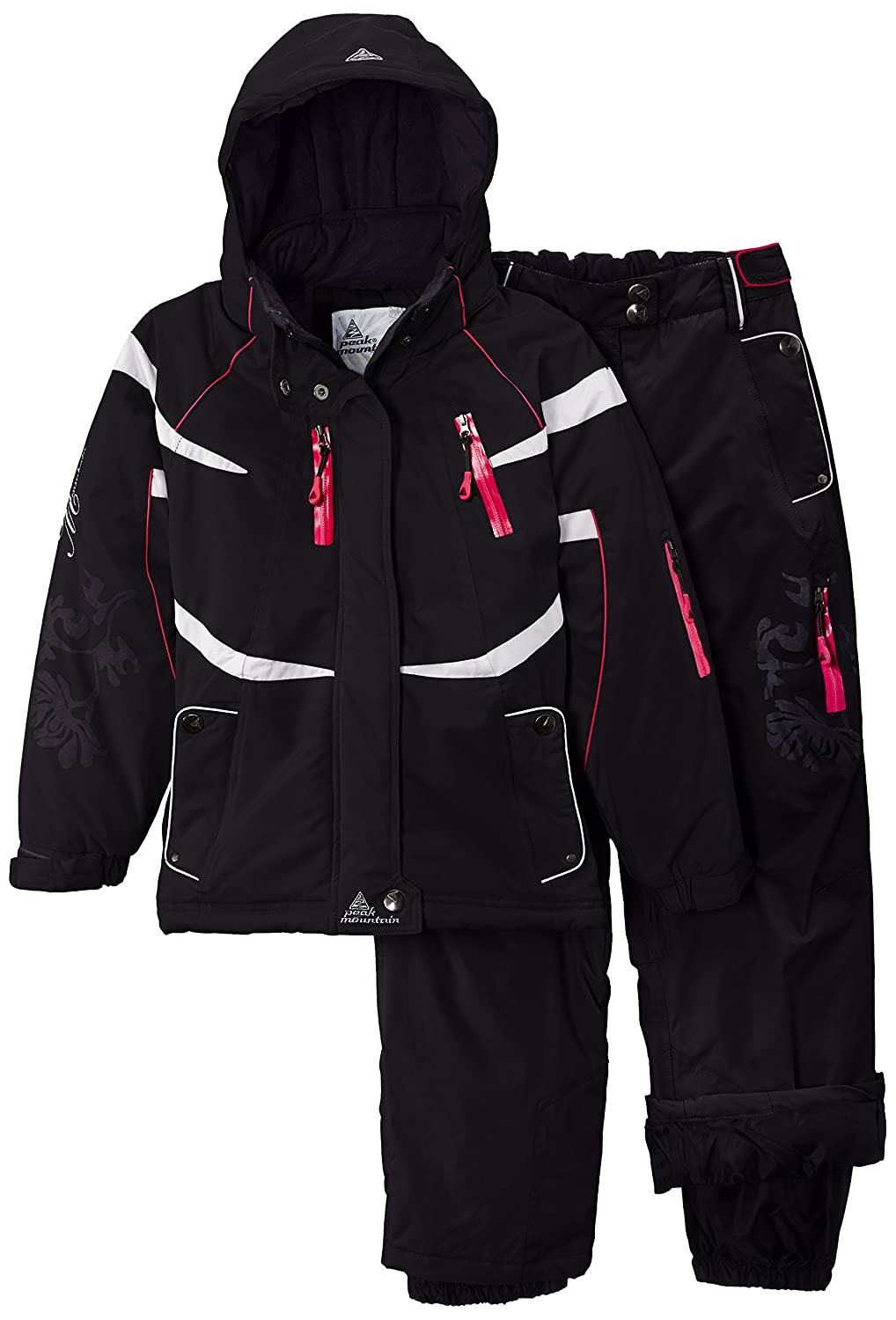 Peak Mountain Gacial/Nh Girls' Ski Kit with Snow Belt