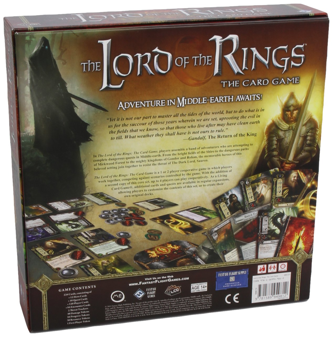 Lord Of The Rings Card Game Nate French Toys Games Blog Has Moved To Wwwfeliciafollumcom Circuit Board Business