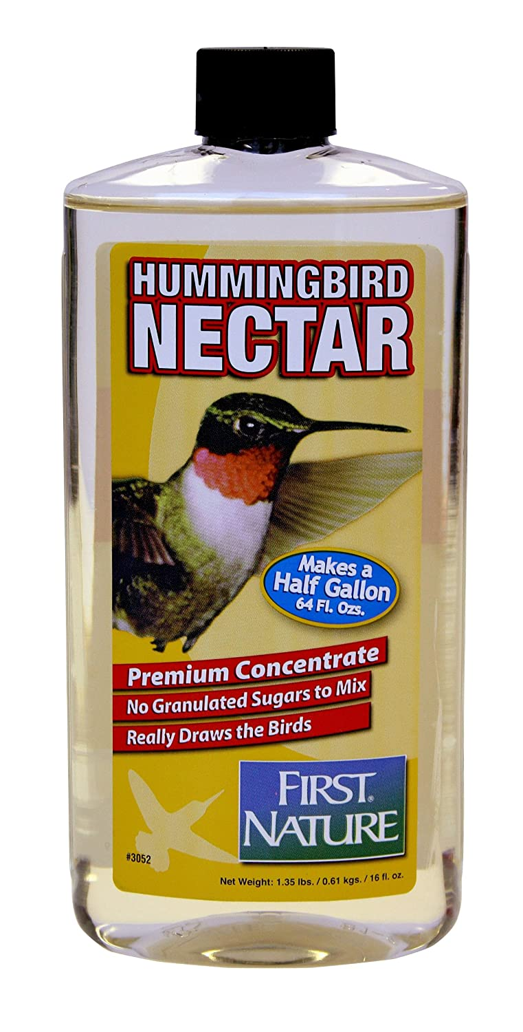 16 oz Clear Hummingbird Nectar Concentrate First Nature FN3052