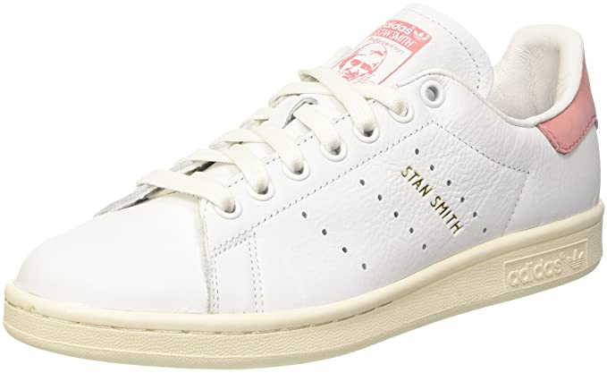 sports shoes fd203 5b1e7 adidas Stan Smith chaussures ftwr white/ray pink