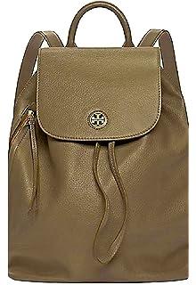 fa2b2e4b9f0e Tory Burch Brody Leather Backpack (Banana Leaf)