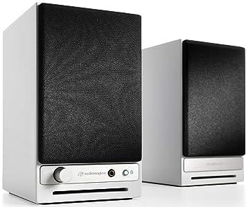 Audioengine HD3 - Altavoces de Escritorio inalámbricos (60 W, USB de 24 bits, DAC y Amplificador analógico, aptX HD, Bluetooth, USB, RCA y entradas ...