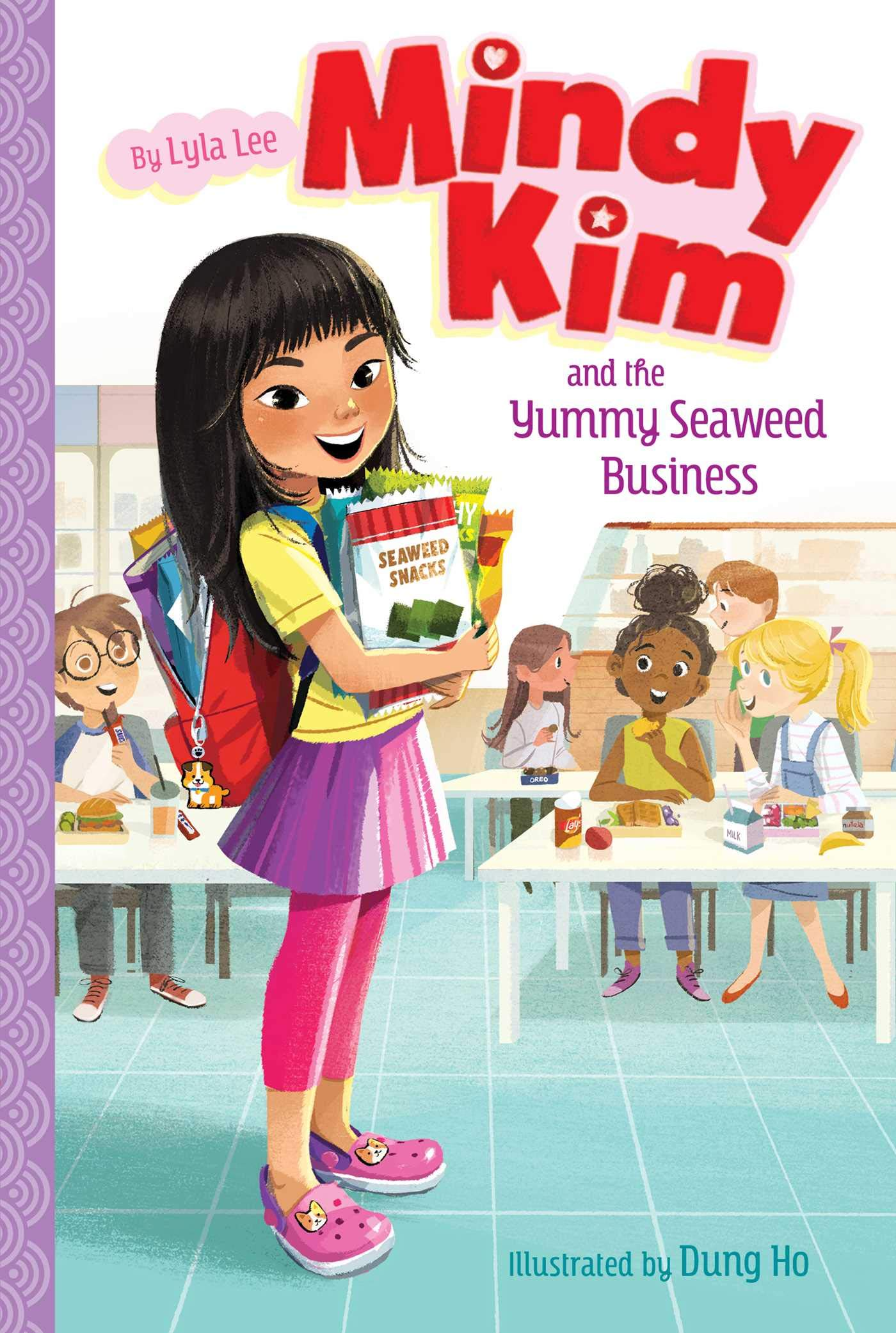 Amazon.com: Mindy Kim and the Yummy Seaweed Business (1 ...