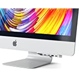 Satechi アルミニウム Type-C クランプハブ Pro  USB-C データポート, 3 USB 3.0, Micro/SDカードリーダー (2017 iMac Pro, iMac Retina 4K, 27インチ5K用) (シルバー)